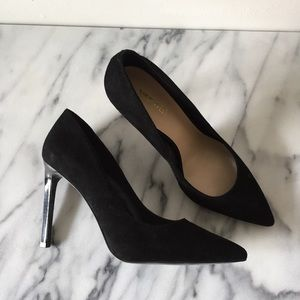 Suede Pointed Toe Pumps - NW Tatiana Pumps